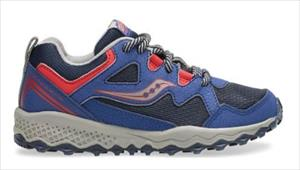 SAUCONY BOYS PEREGRINE SHIELD 2 JR A5 navy/red
