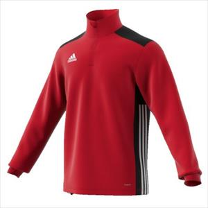 ADIDAS REGISTA 18 maglia all. M/L 1/2 zip power red/black