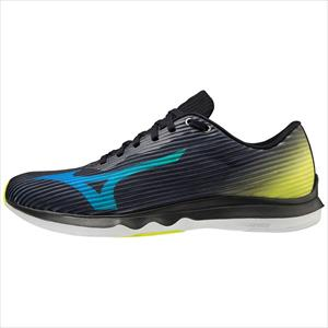 MIZUNO WAVE SHADOW 4 A2 250gr 8d black/directoire blue/safety yellow