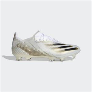 ADIDAS X GHOSTED .1 FG cloud white/core black/met.gold melange