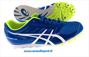 ASICS - HYPER LD 5 A8 163gr diva blue/white/safety yellow